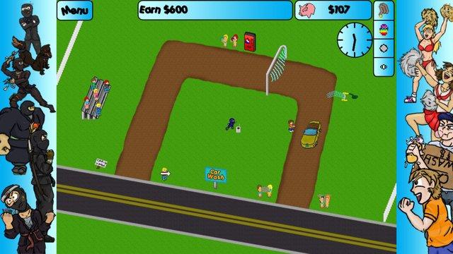 Car Washer: Summer of the Ninja screenshot