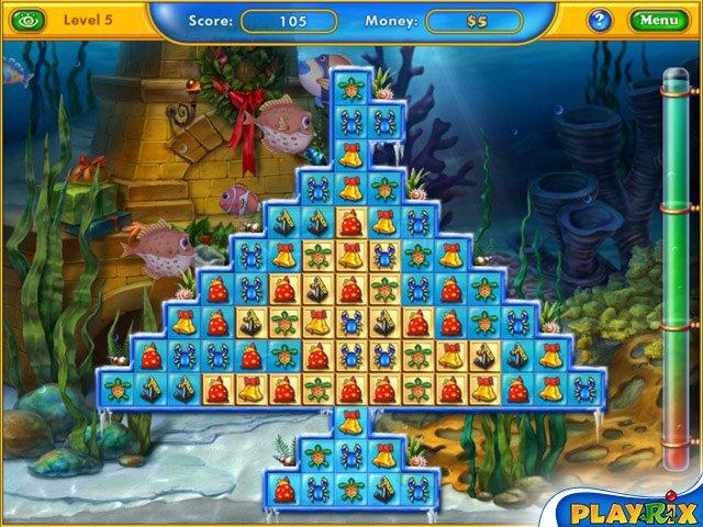 Fishdom: Зимние каникулы screenshot