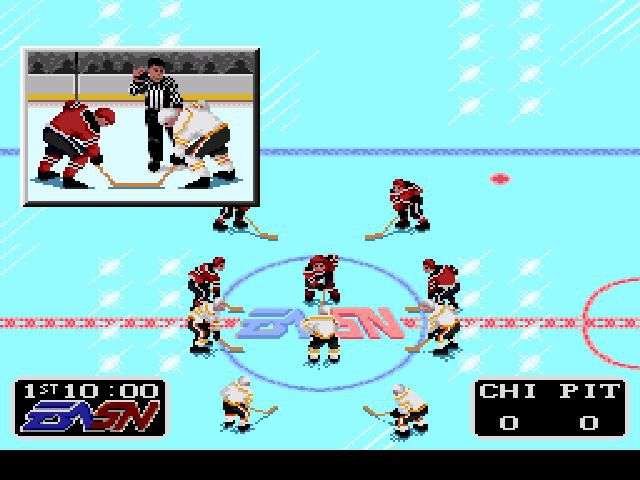 NHLPA Hockey '93 screenshot