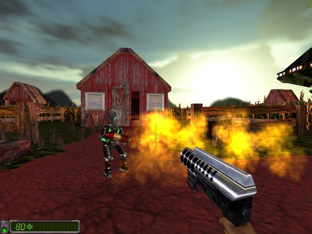 CodeRED: Battle for Earth screenshot