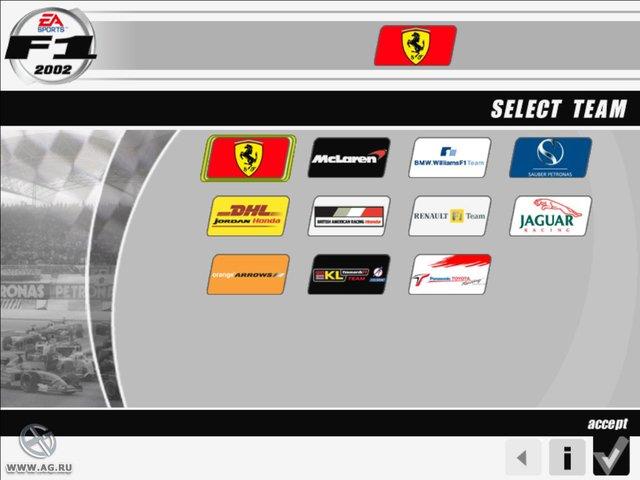 F1 2002 screenshot