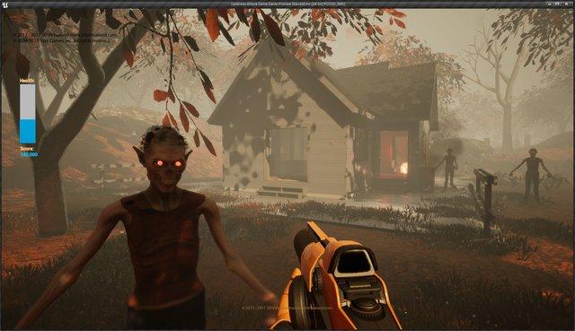 Darkness Attack Game screenshot