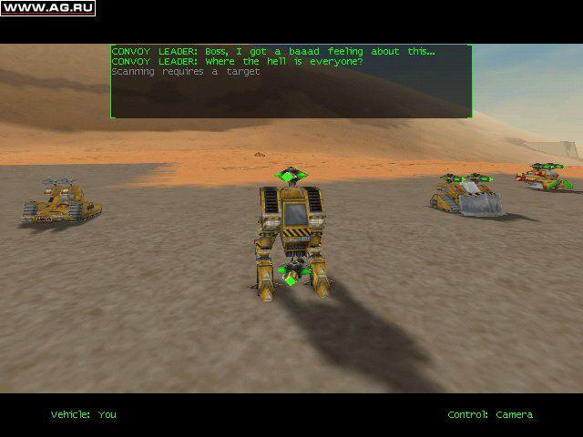 Starsiege screenshot