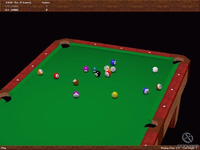 Virtual Pool 2 screenshot