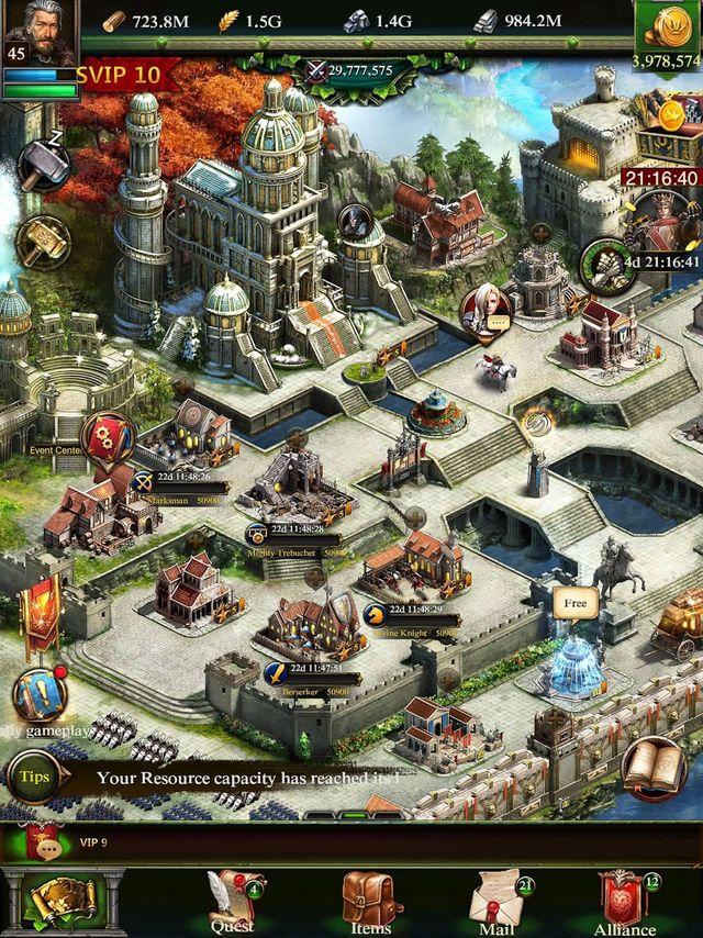 Clash of Kings: Пришествие Чуда screenshot