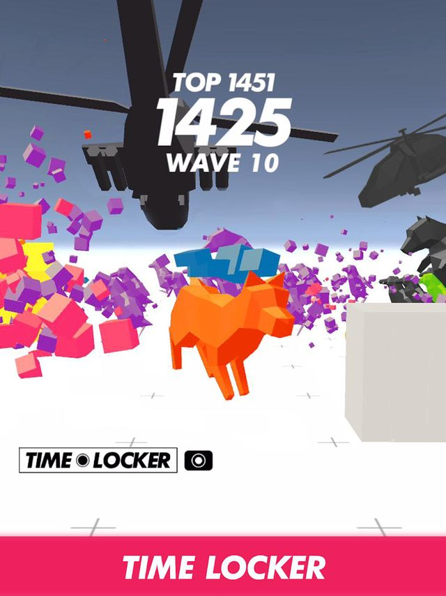 TIME LOCKER - Shooter screenshot