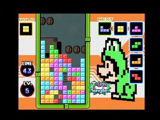 Tetris DS screenshot