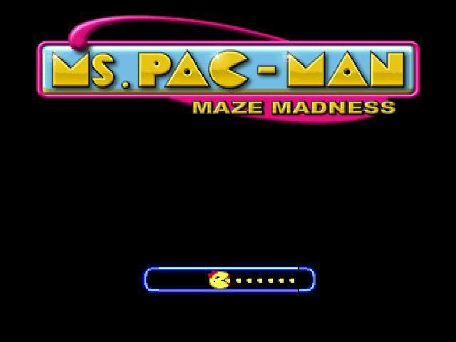 Ms. Pac-Man Maze Madness screenshot