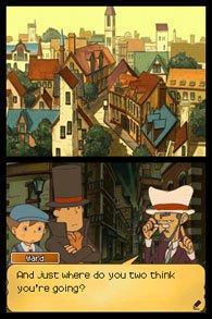 Professor Layton and the Unwound Future screenshot