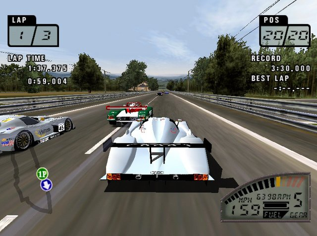 Test Drive: Le Mans screenshot