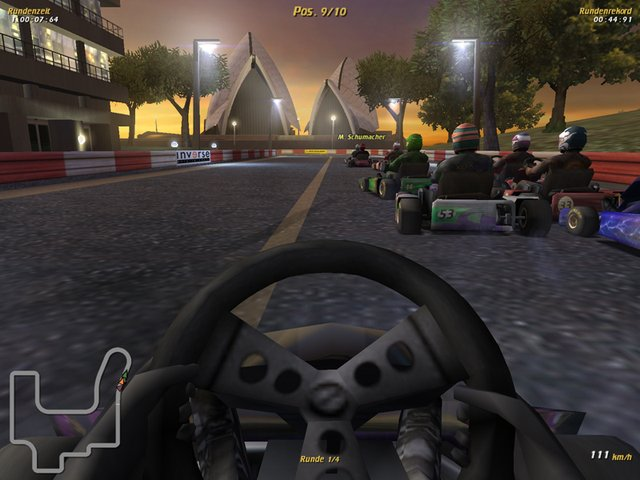 Michael Schumacher Kart World Tour 2004 screenshot