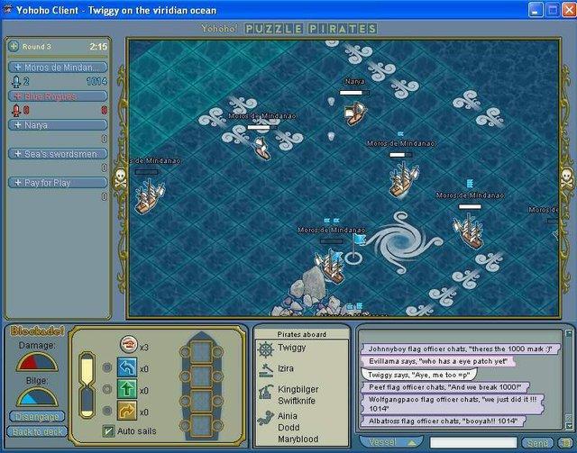 Yohoho! Puzzle Pirates screenshot