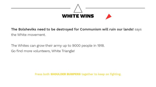 BEAT the Whites with the Red Wedge screenshot