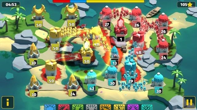BattleTime - Военная Стратегия Оффлайн Игра screenshot
