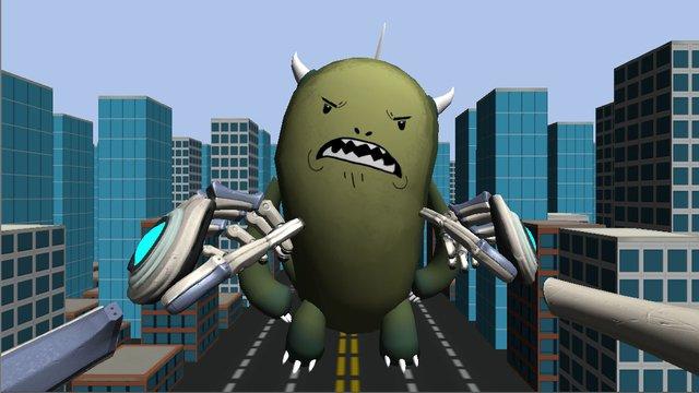 Monster Slapper screenshot
