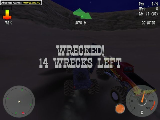 Четырёхколёсные монстры screenshot