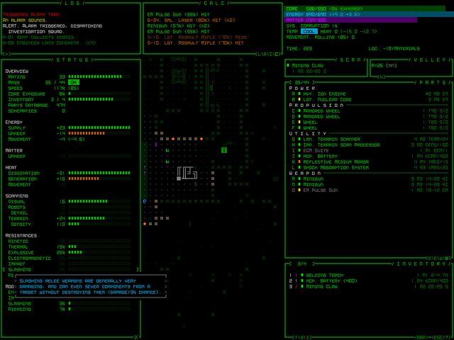 Cogmind screenshot