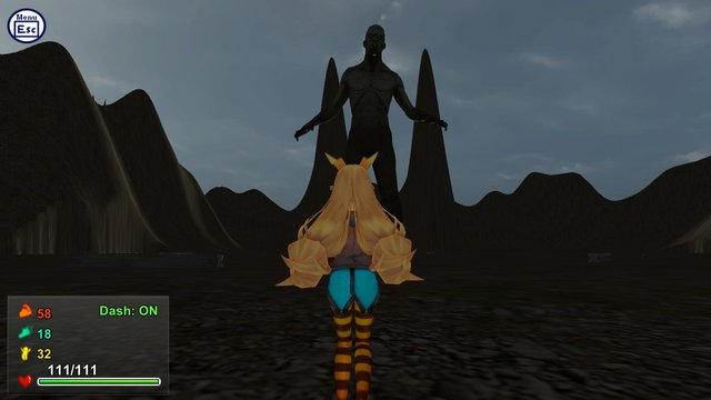 Attack of the Gigant Zombie vs Unity chan screenshot