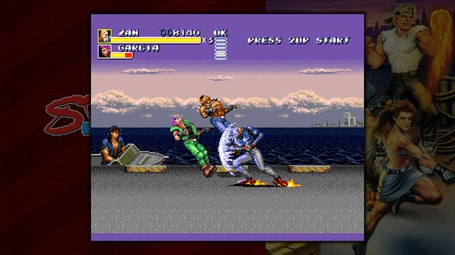 Sega Vintage Collection: Streets of Rage screenshot