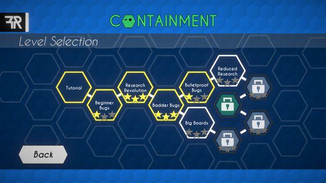 Containment screenshot