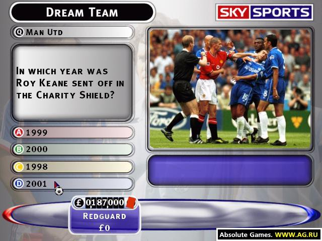 Sky Sports Football Quiz - Season 02 screenshot