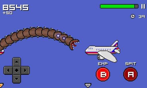 Super Mega Worm screenshot