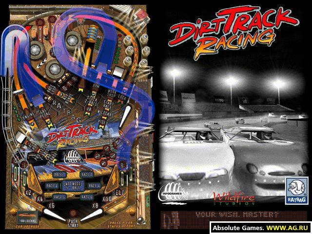 Dirt Track Racing Pinball screenshot