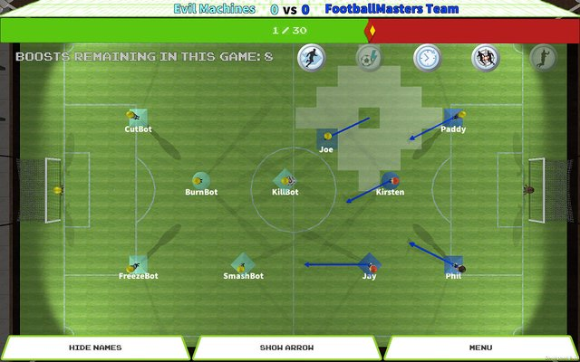 TableTop Soccer screenshot