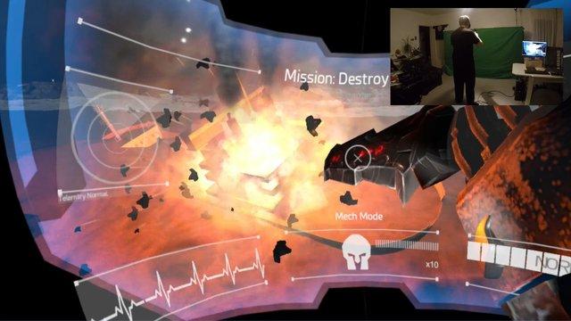 Mech Ace Combat - Trainer Edition screenshot