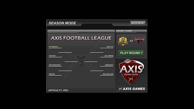 Axis Football 2015 screenshot
