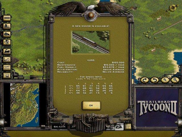 Railroad Tycoon II Platinum screenshot