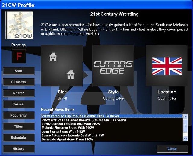 Total Extreme Wrestling 2005 screenshot