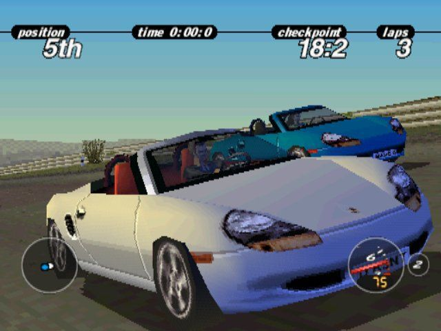 Porsche Challenge screenshot