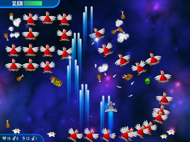 Chicken Invaders 3: Christmas Edition screenshot