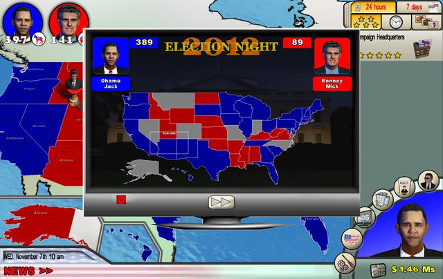 The Race for the White House screenshot