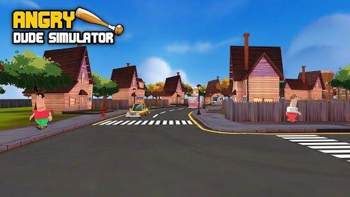 Angry Dude Simulator screenshot