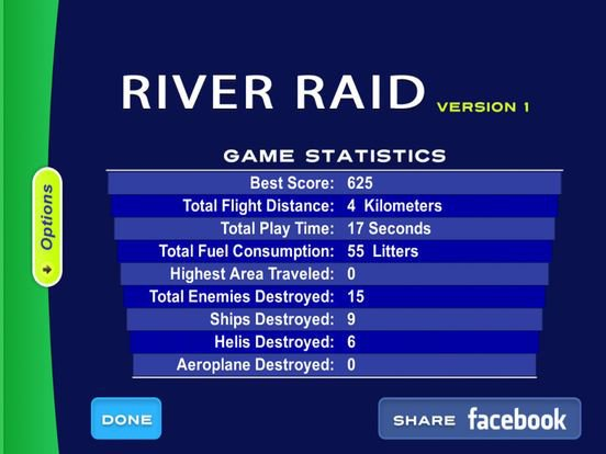River Raid 2600 screenshot