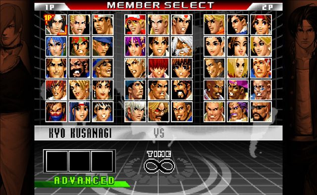 THE KING OF FIGHTERS '98 ULTIMATE MATCH FINAL EDITION screenshot