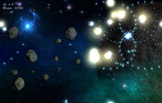 Asteroids Millennium screenshot