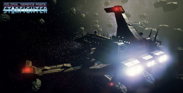 CDF Starfighter VR screenshot