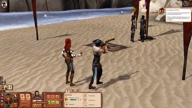 Sims Medieval: Пираты и знать, The screenshot