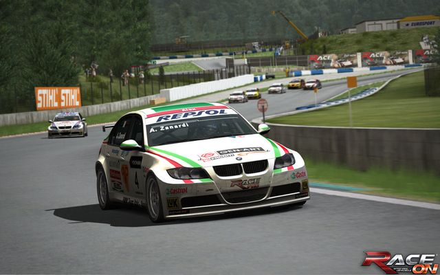 RACE On screenshot
