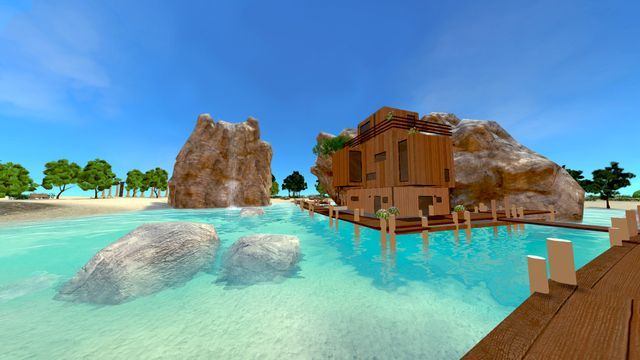 Heaven Island - VR MMO screenshot