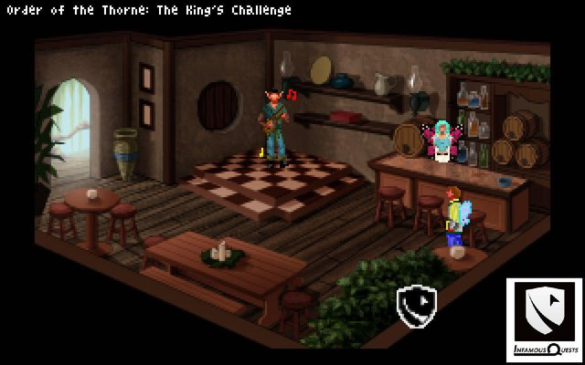The Order of the Thorne - The King's Challenge screenshot