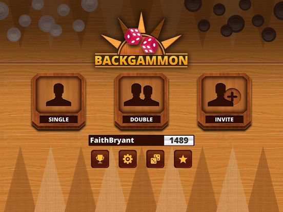 Backgammon Free with Friends: Online Live Games screenshot