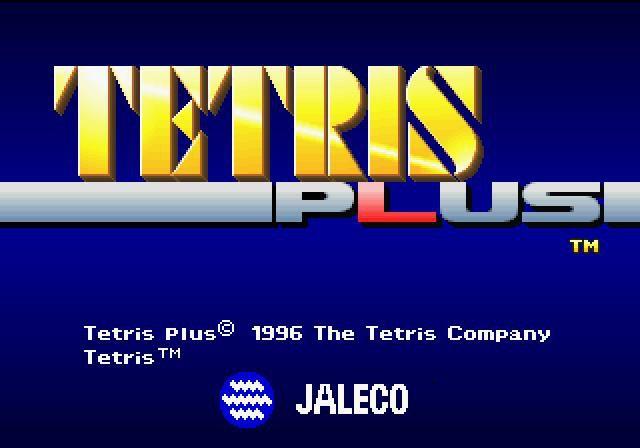 Tetris Plus screenshot