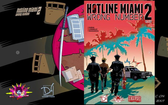 Hotline Miami 2: Wrong Number Digital Comic screenshot