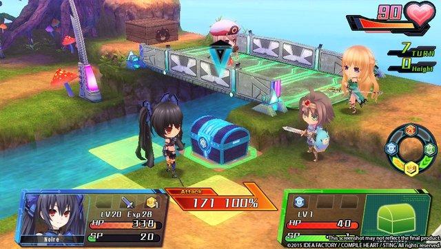 Hyperdevotion Noire: Goddess Black Heart screenshot