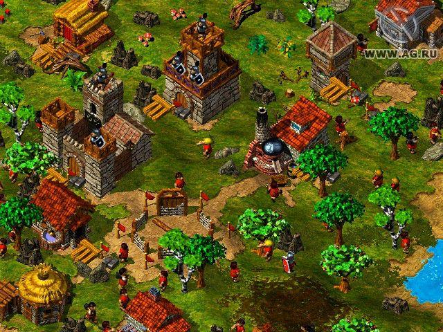 The Settlers 3 screenshot