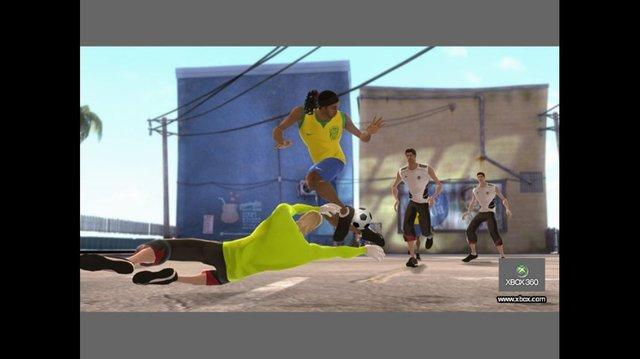 FIFA Street 3 screenshot